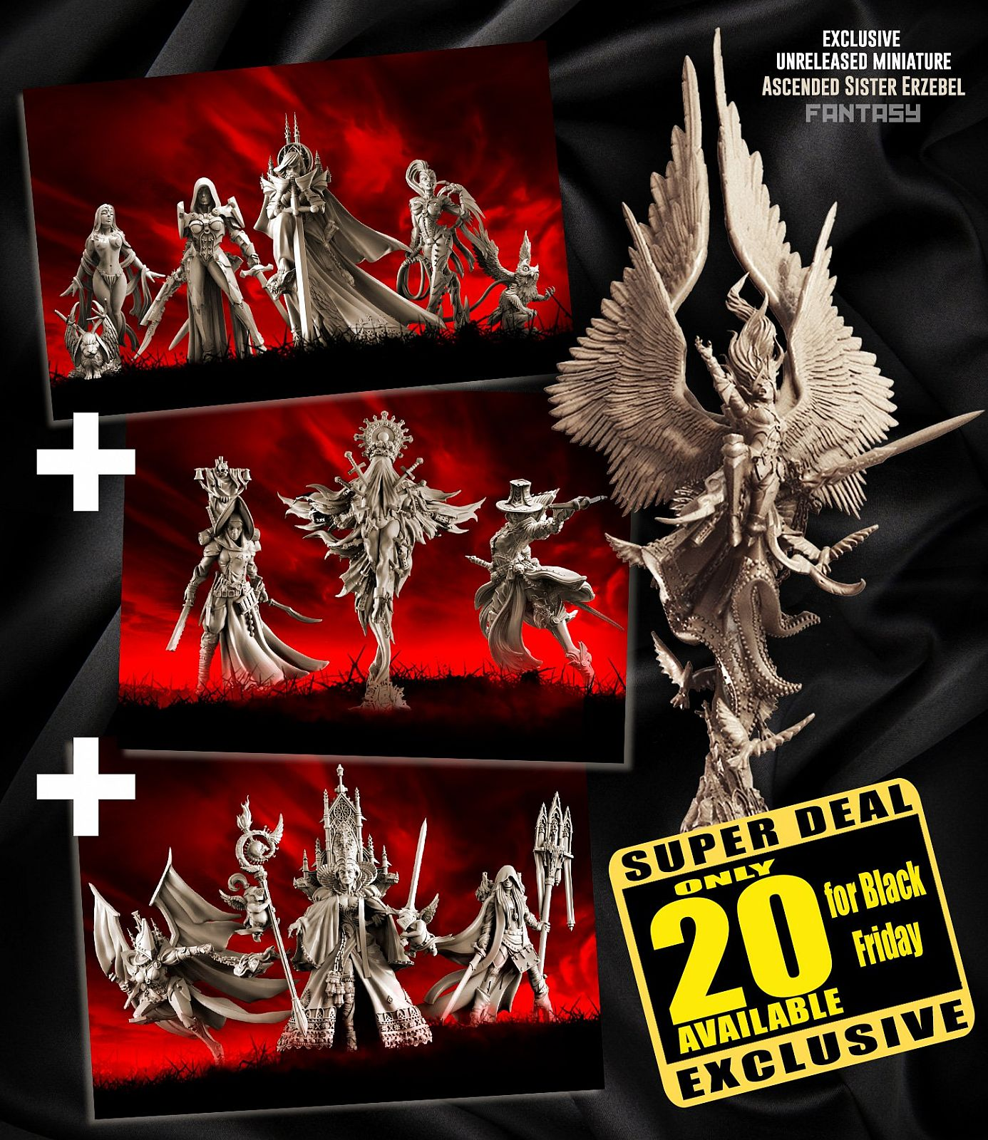 EXCLUSIVE Sisters Fantasy multipack with Erzebel