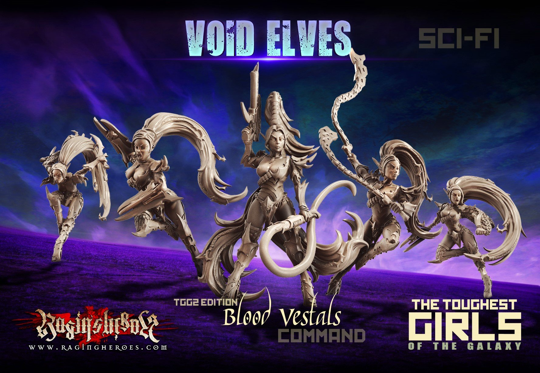 Blood Vestals - Command Group, TGG2 Ed. (VE - SF)