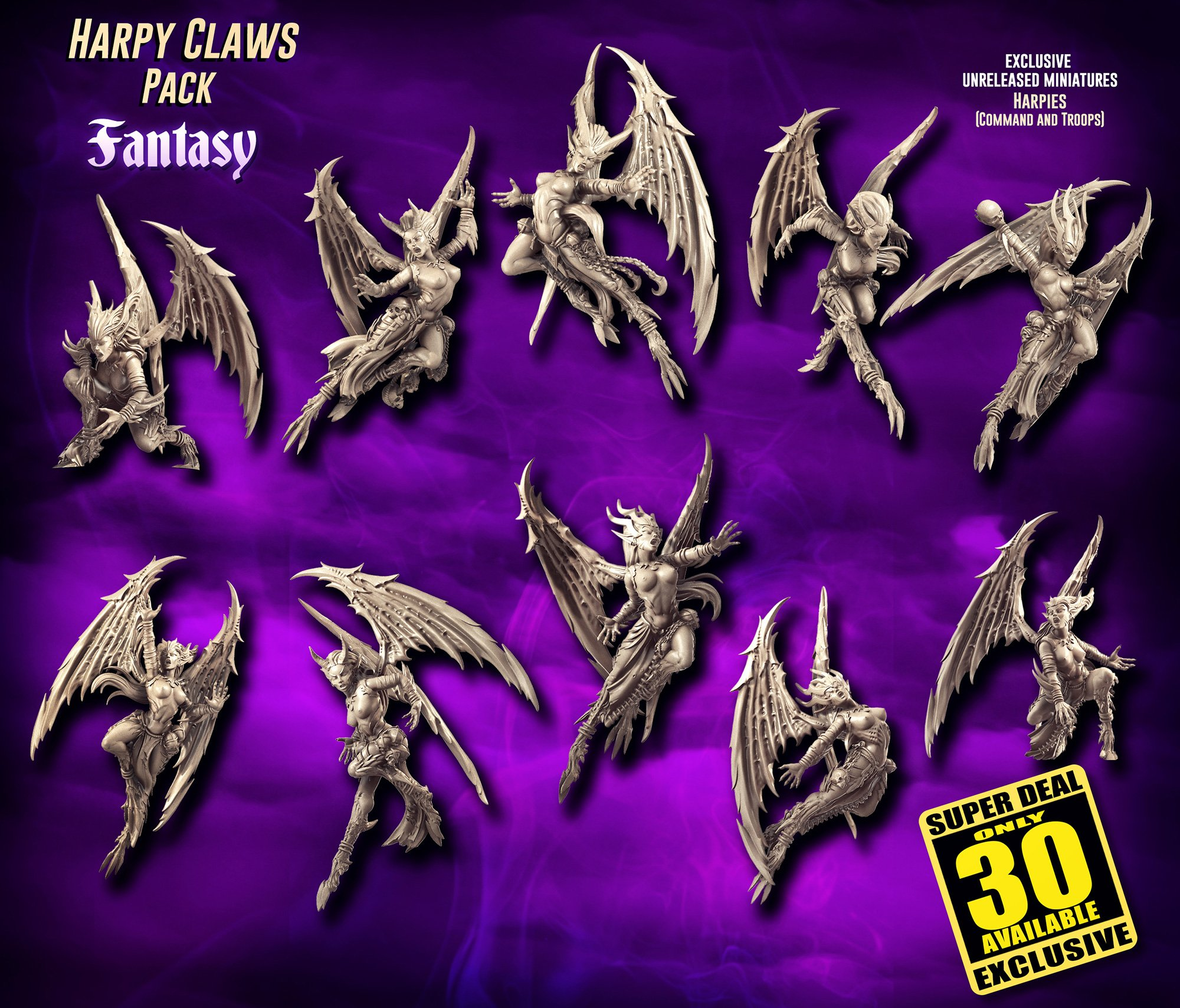 EXCLUSIVE Harpy Claws Pack (DE - FANTASY)