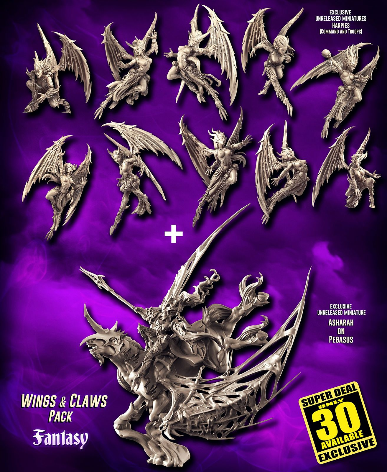 EXCLUSIVE Wings & Claws Pack (DE - FANTASY)