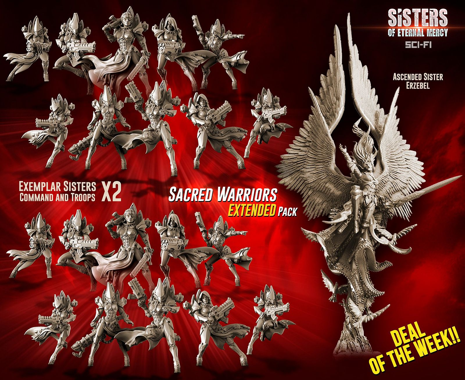 Sacred Warriors EXTENDED Pack (SoEM - SF)