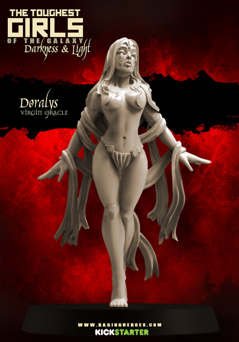 Doralys, Virgin Oracle (Sisters - F/SF)