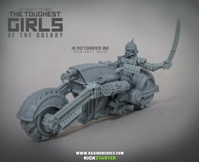 Iron Empire War Bike 2