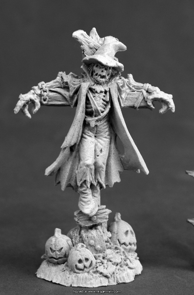ReaperCon 2017 Hall of Fame Miniature - Scarecrow