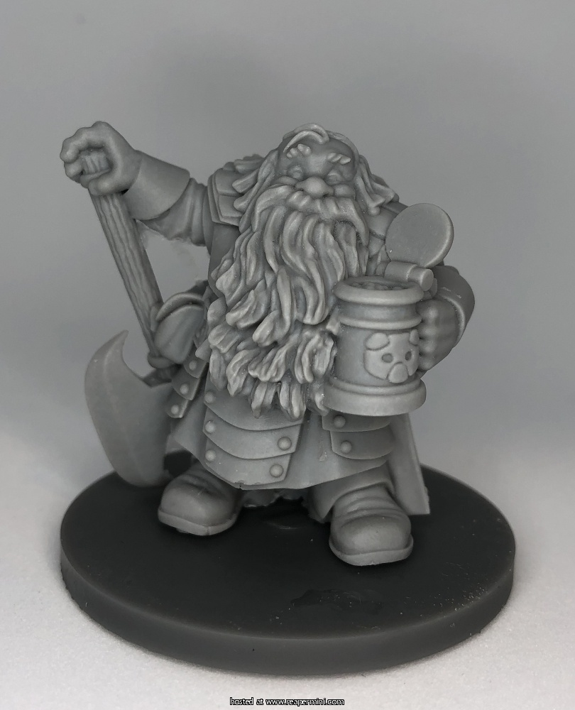 Johan Rumbleguts, Dwarf Hero - RESIN EDITION
