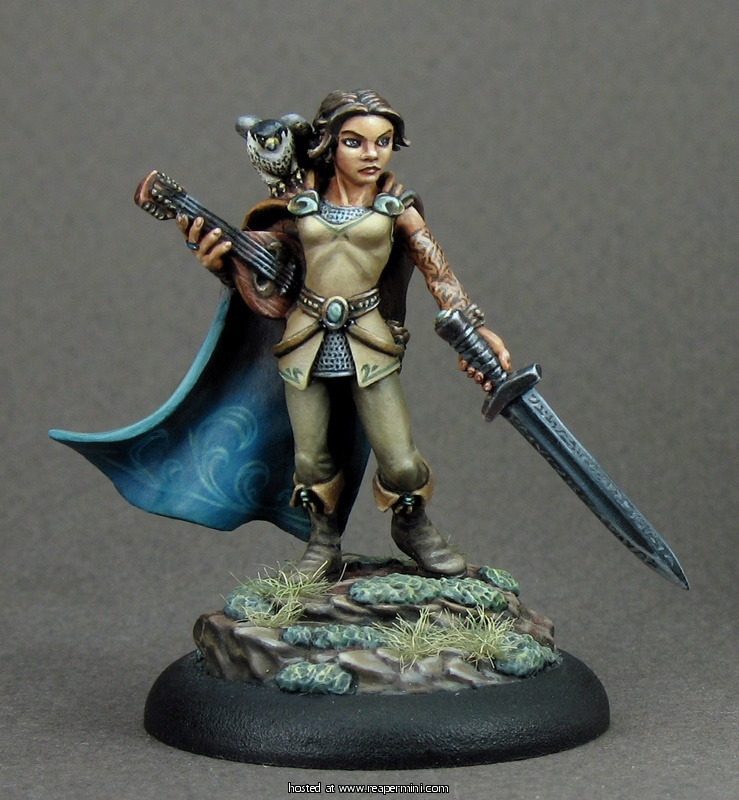 Shaelin, Female Bard