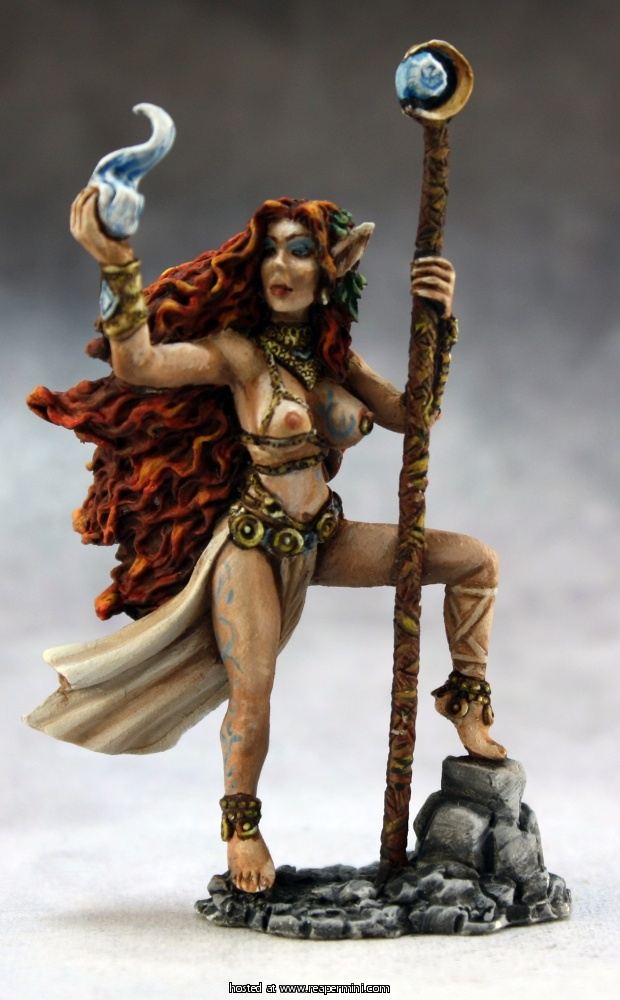 Zeldriia, Elf Sorceress