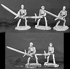 Skeletons, 2H Swords