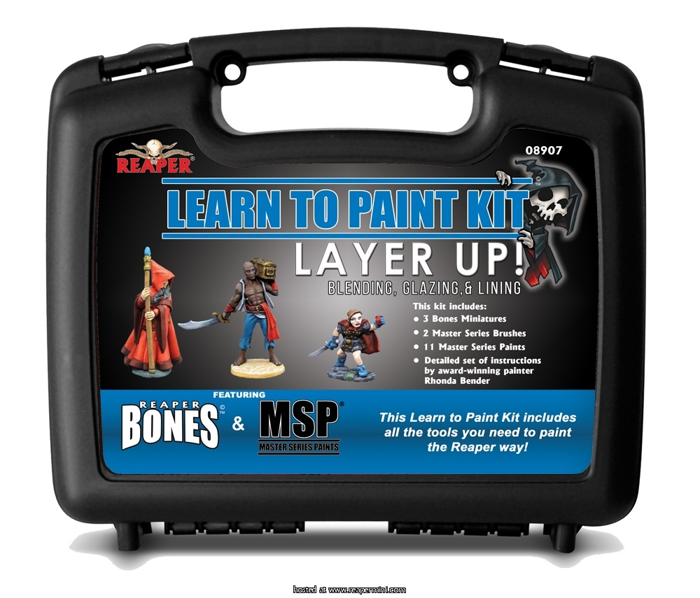 Learn to Paint Kit: Layer Up