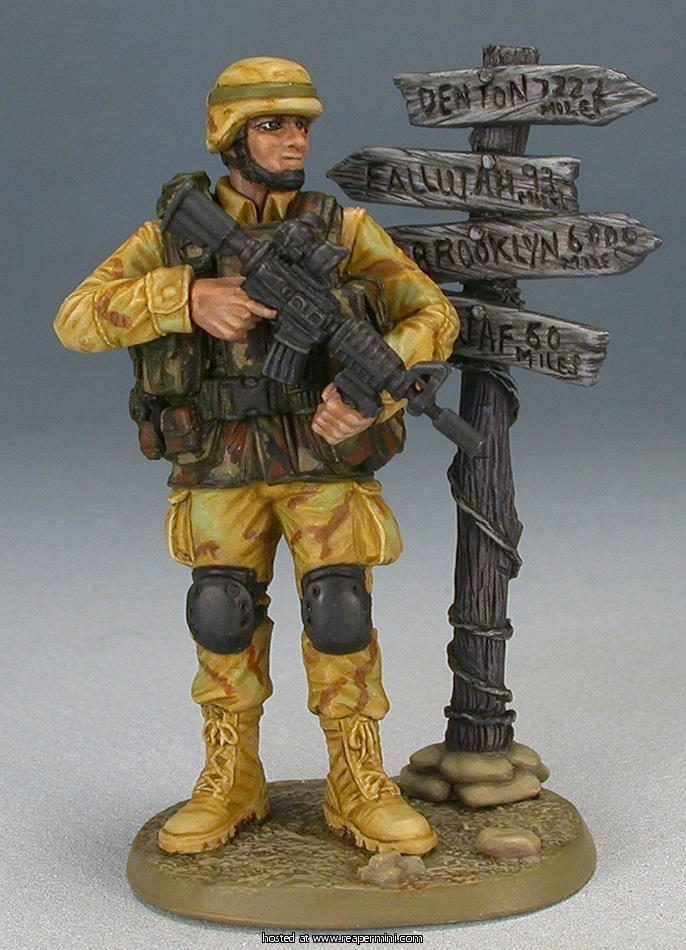 US Army Serviceman (54mm)