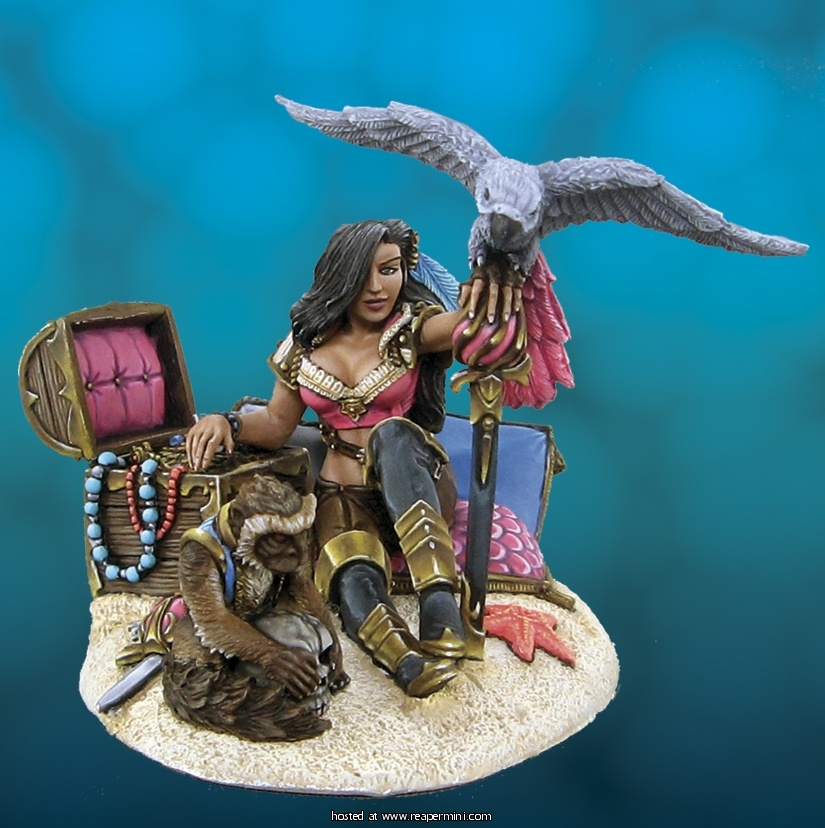 Maria Roseblade, Pirate Queen (54mm)