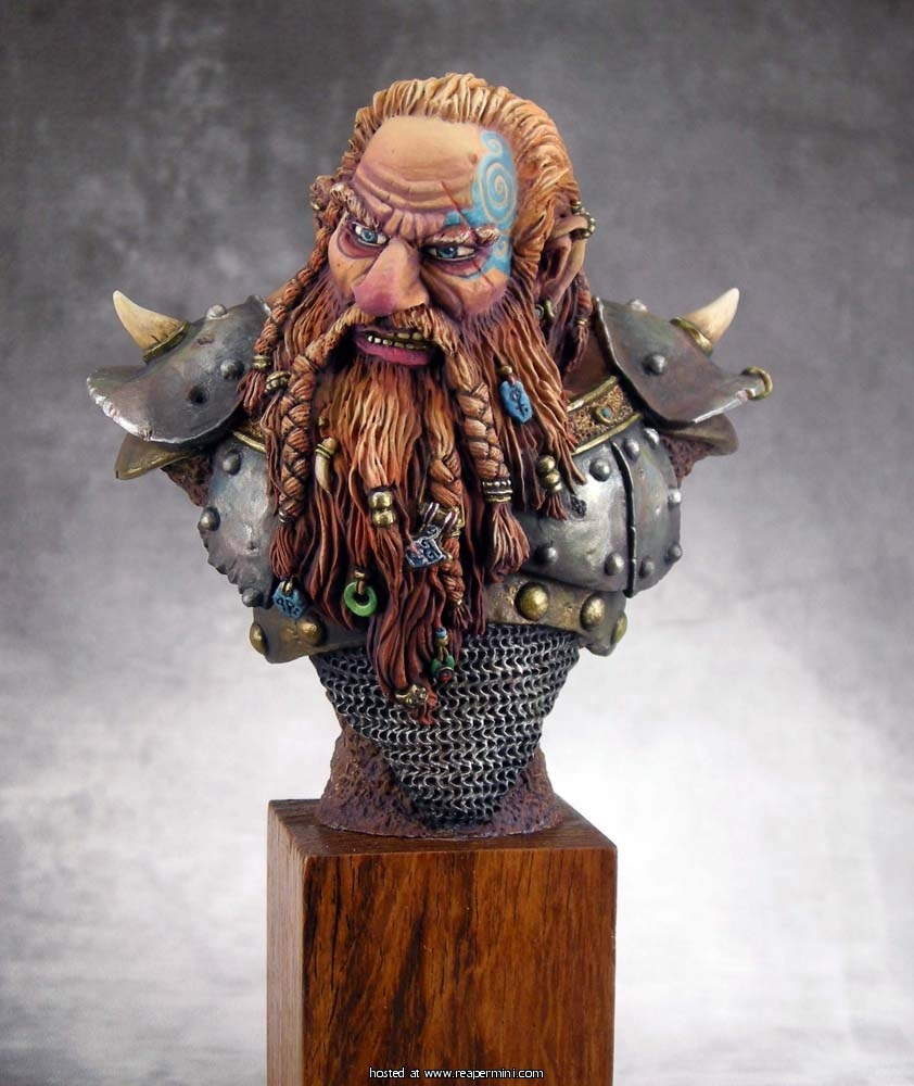 The Grudge - Resin Dwarf Bust