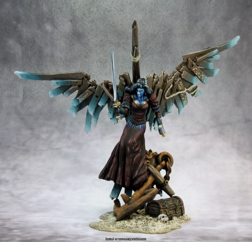 The Dark Maiden (Heroic Scale Metal Miniature)
