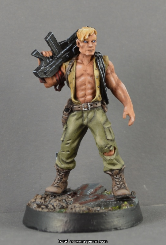 Hans, Post Apocalyptic Survivor