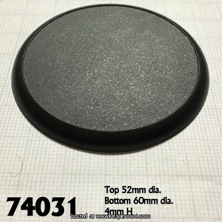60mm Round Plastic Display Base