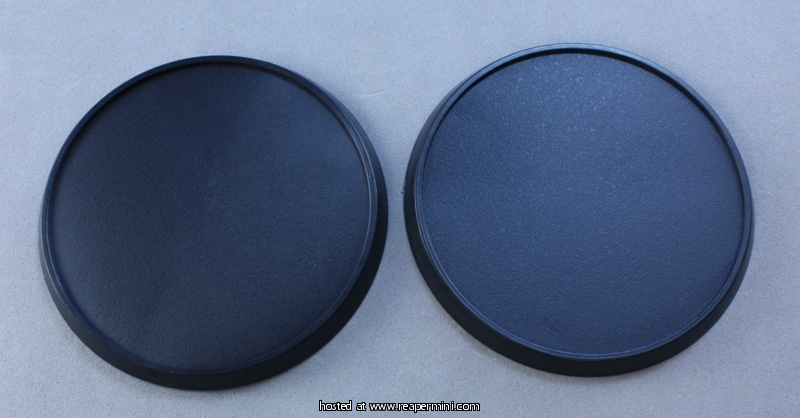 60mm Round Plastic Gaming Base