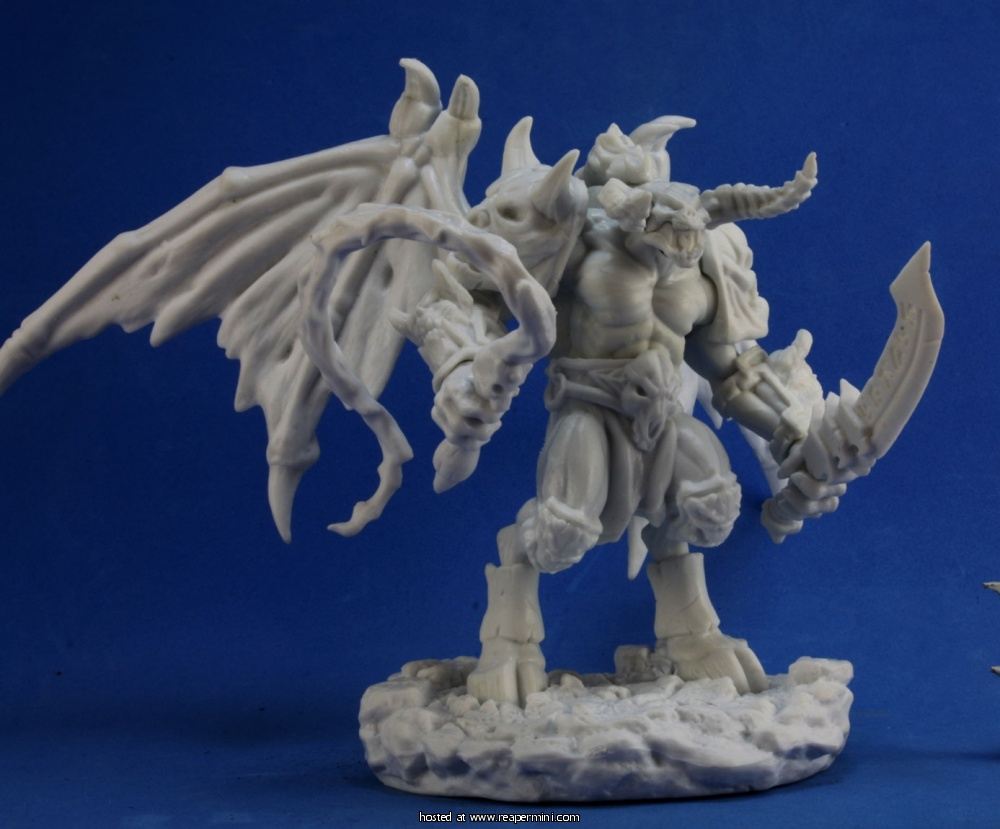 Fire Demon | Miniset.net - Miniatures Collectors Guide