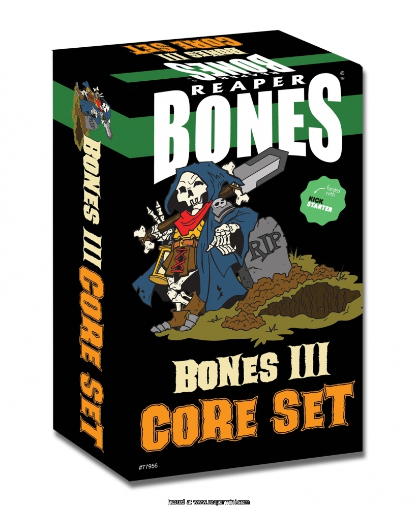 Bones 3 Core Set (Boxed Set)