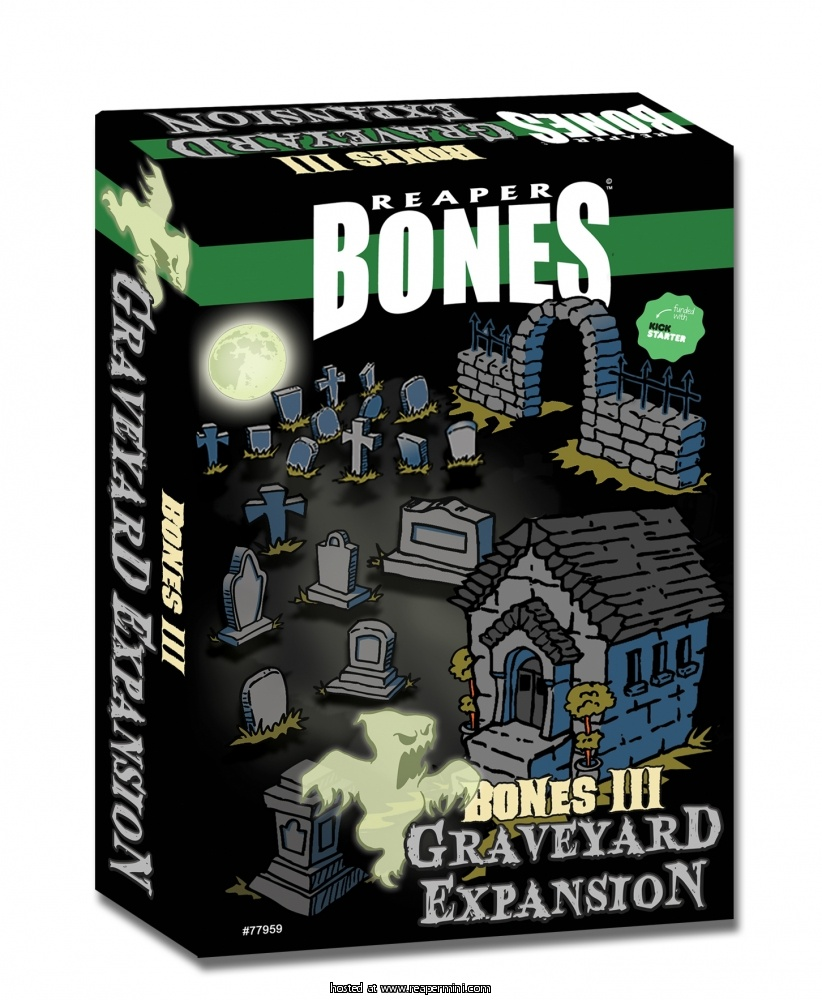 Bones 3 Graveyard Expansion Set (Boxed Set)