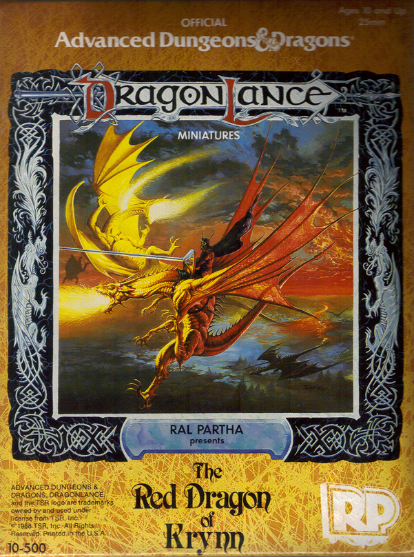 Dragonlance Red Dragon of Krynn