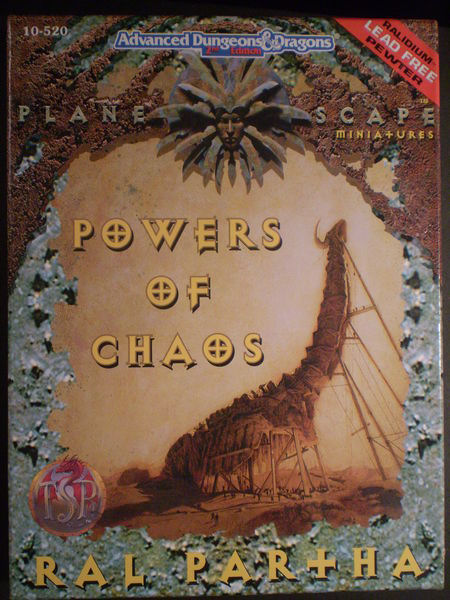 Planescape Powers of Chaos