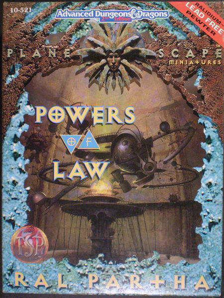 Planescape Powers of Law