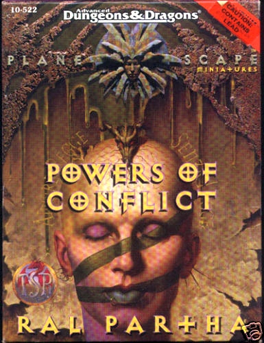 Planescape Powers of Conflict