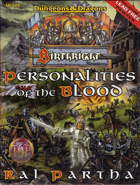 Birthright Personalities of the Blood