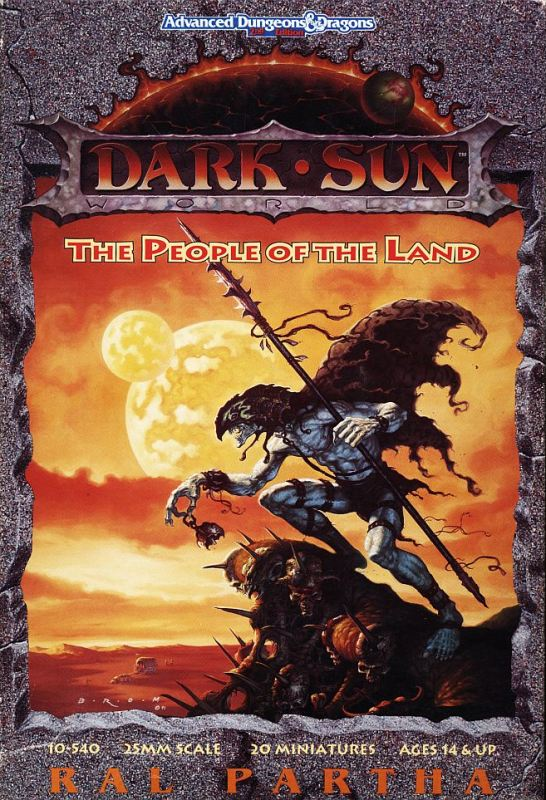 Darksun People of the Land