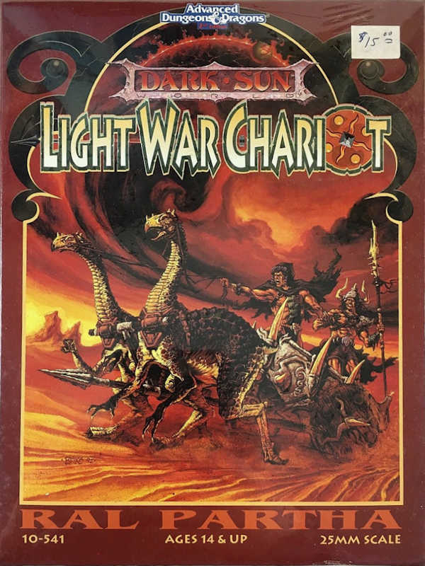 Darksun Light War Chariot