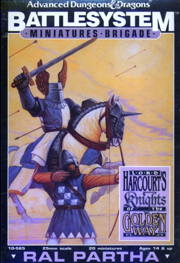 Battlesystem Lord Harcourt's Knights of the Golden Way