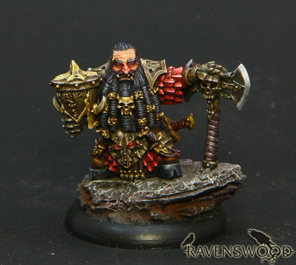 Bezhukk the Immortal, a dwarf mercenary (limited edition)