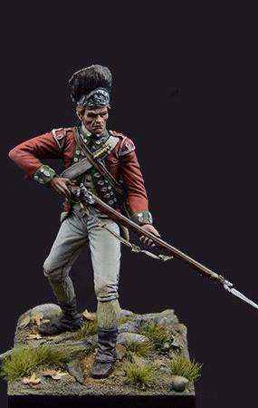 British Grenadier, 5th of Foot, Brandywine Battle.