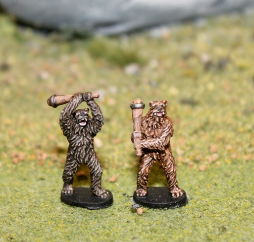 Bear Warriors w/ Clubs