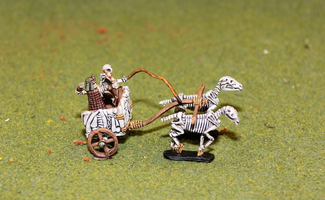 Egyptian Skeleton Chariots