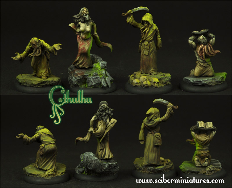 Cthulhu Cultists set