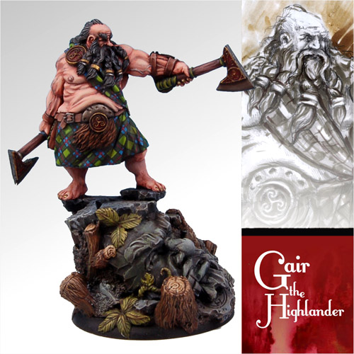 Gair the Highlander