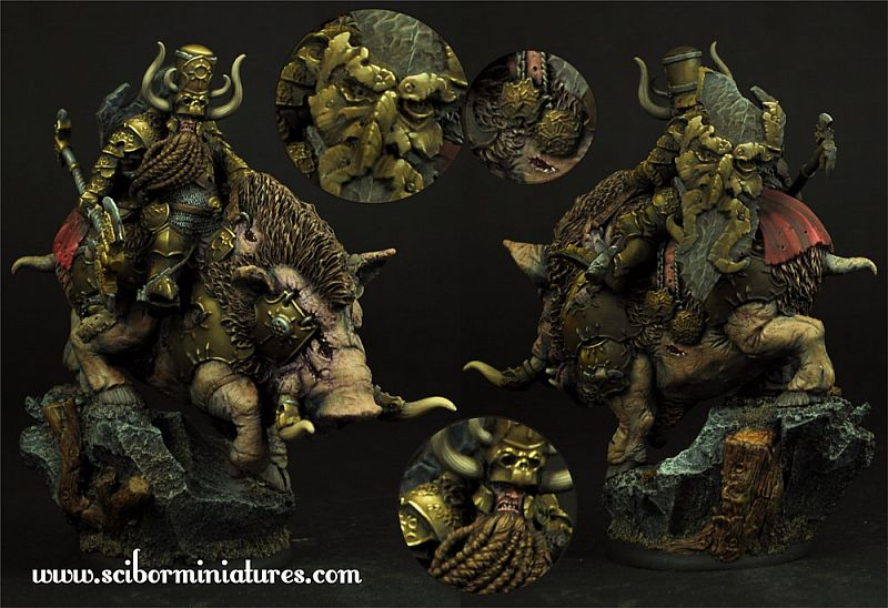 Moscal Dwarf on War Boar