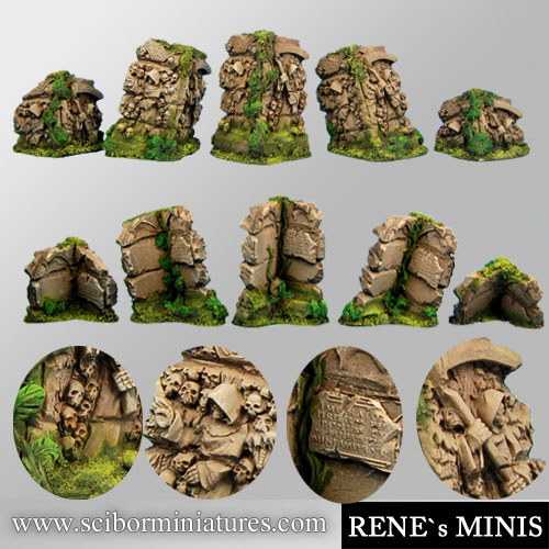 Angels Temple Ruins Terrain #2