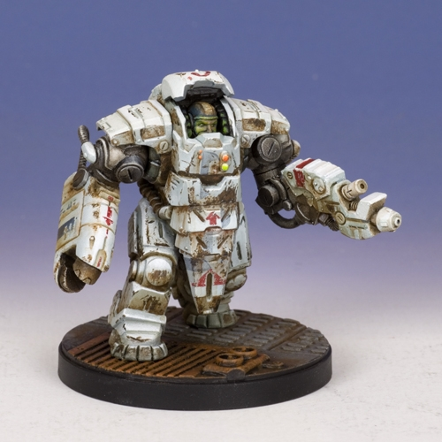 Sedition Wars - T.H.I Utility Carapace -  Maul Variant (metal version)