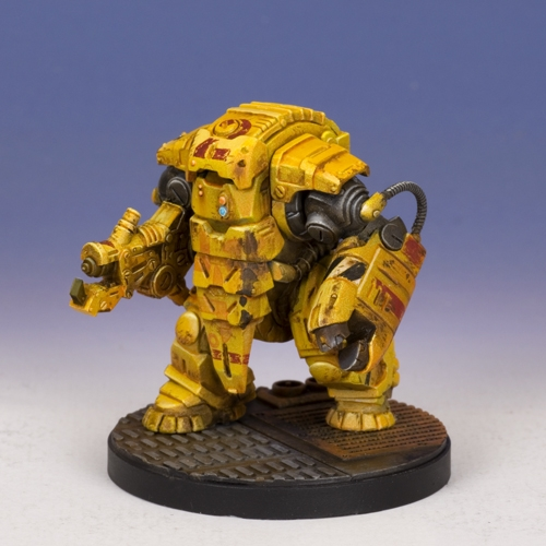 Sedition Wars - T.H.I Utility Carapace -  Mattock Variant (metal version)