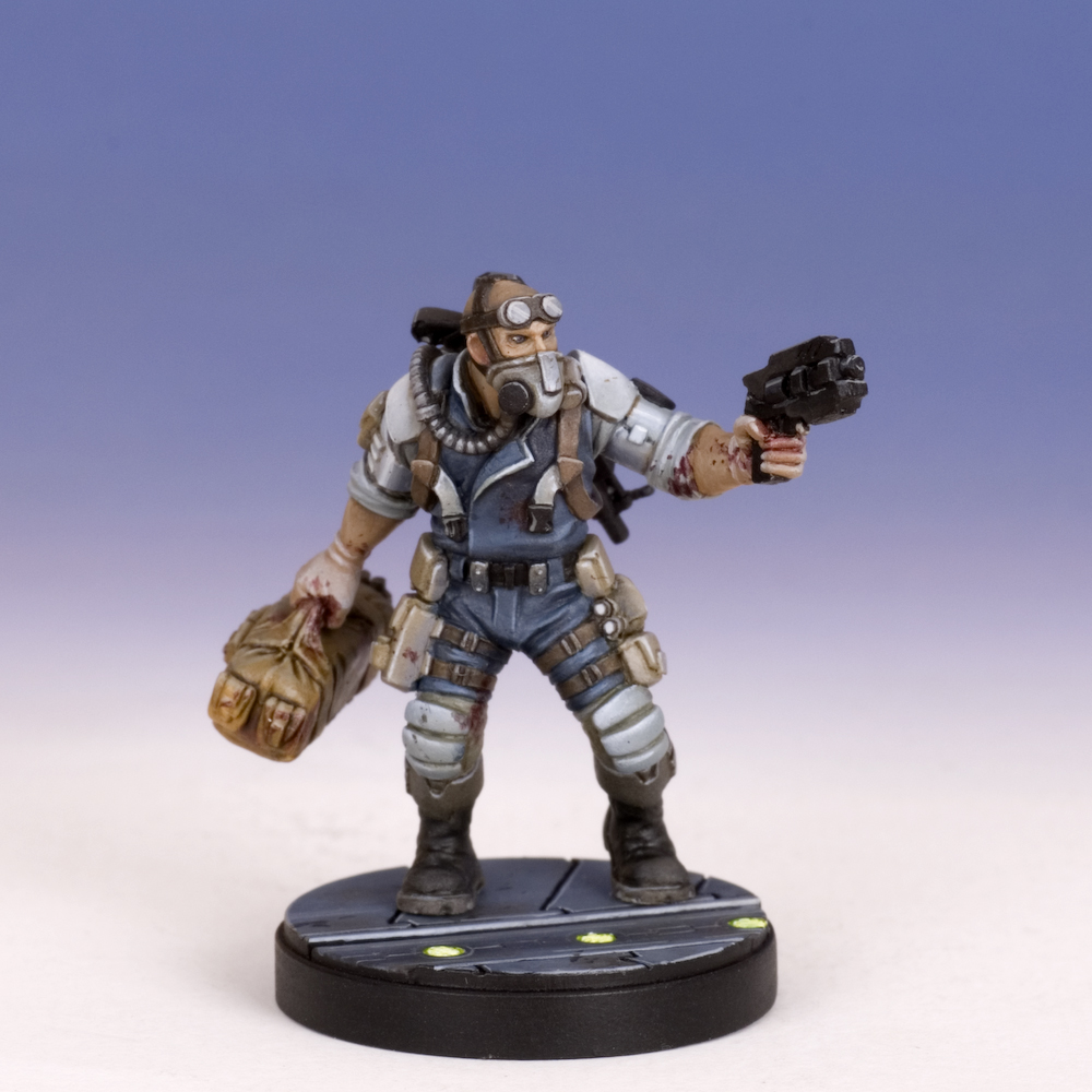 Sedition Wars: Corpsman Morgan Vade (resin version) (limited to 150)