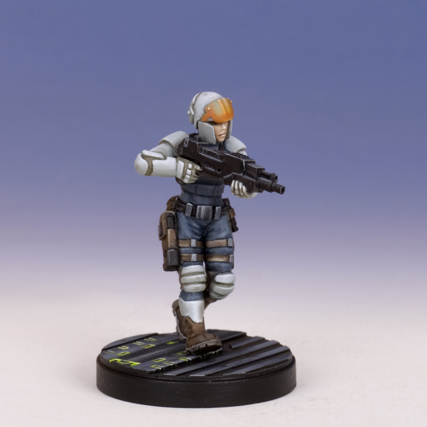 Sedition Wars:Trooper with Laser Carbine (resin version) (limited to 100)
