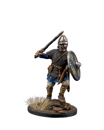 The Anglo-Saxon warrior with sword №2
