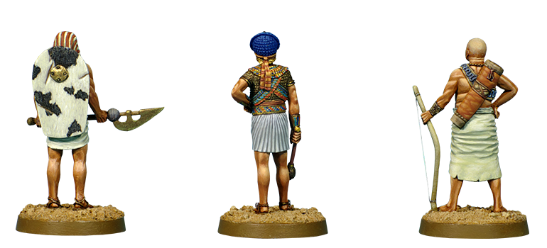 Egyptian archer