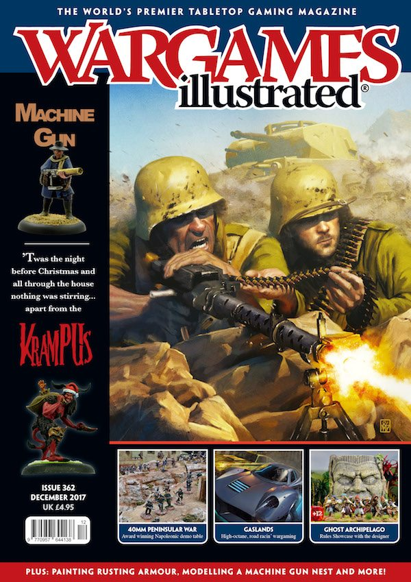 Wargames Illustrated 362, December 2017
