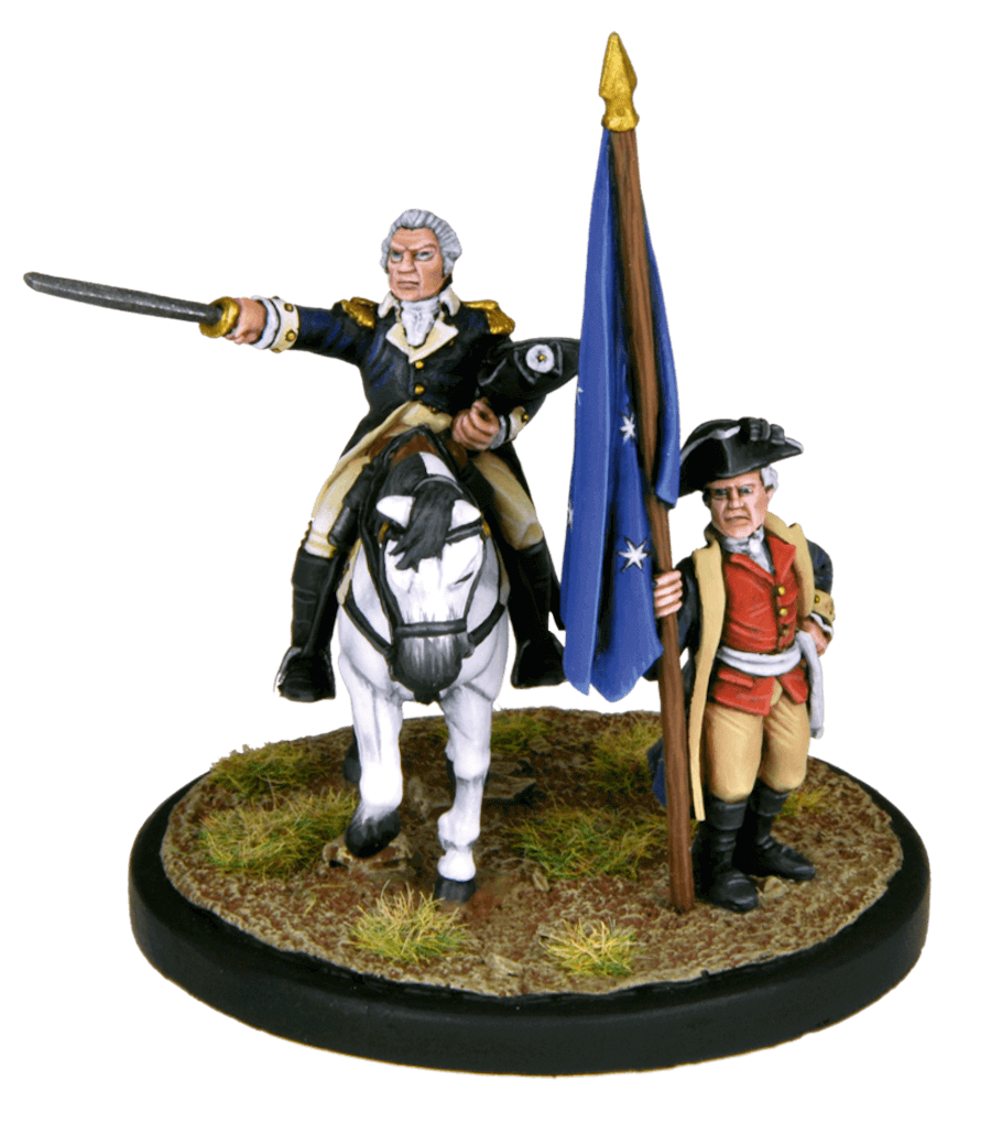 Washington & The Continental Army Standard