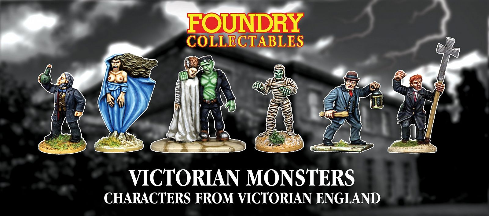 Victorian Monsters