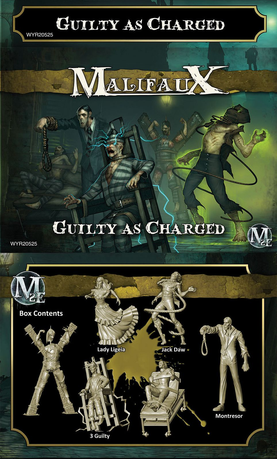 Guilty as Charged - Jack Daw Box Set - Yellow Transparent