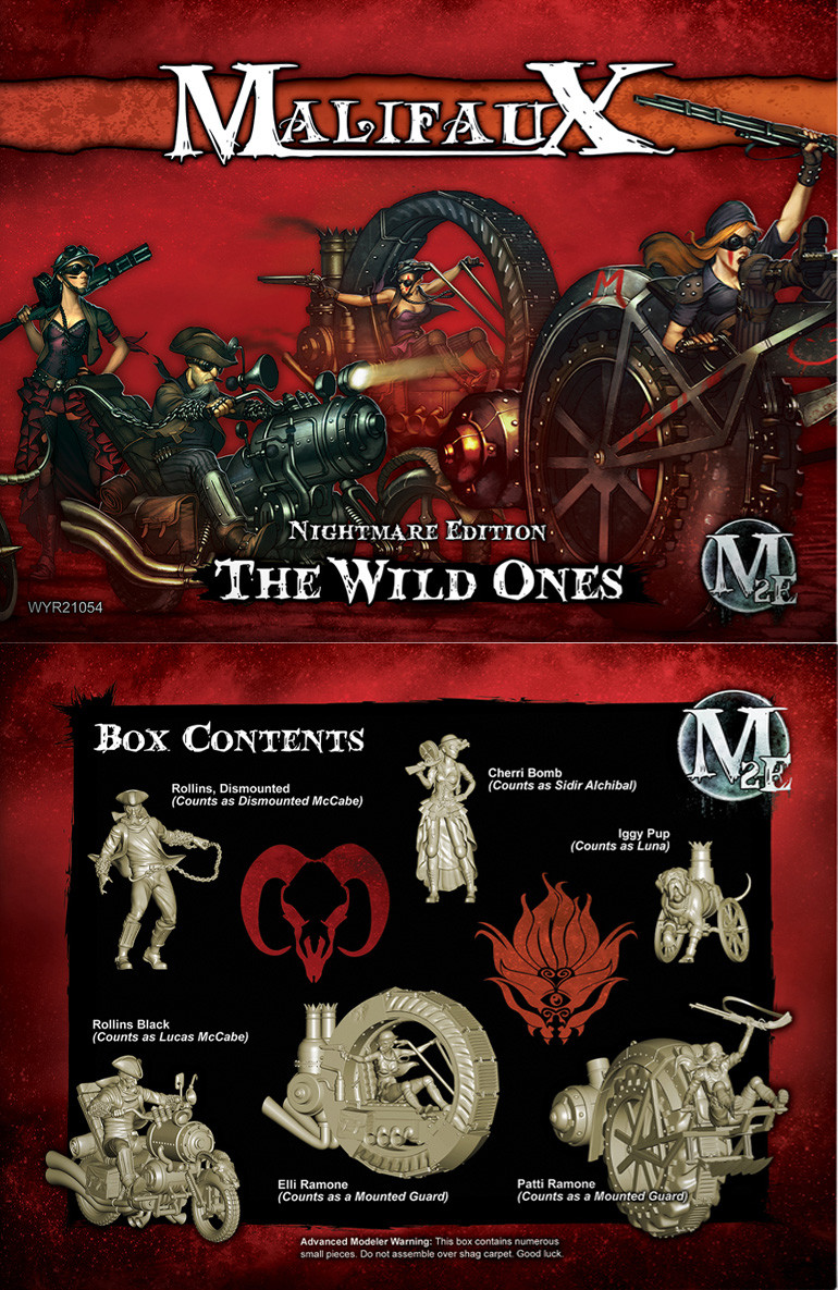 Nightmare Edition The Wild Ones - Smoke Transparent